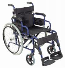 Deluxe Lightweight Self Propelled Aluminium Wheelchair
