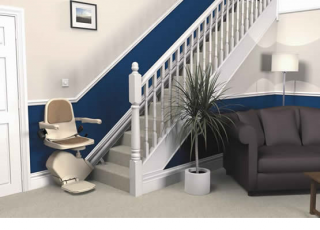 The Brooks Straight Stairlift